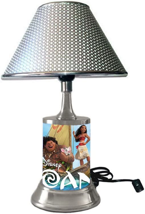 Disney s Moana Lamp with Silver Colored Shade