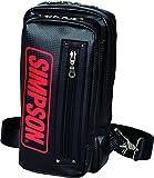 SIMPSON バッグ ワンショルダーバッグ レッド H290XW170XD60(mm)SB-313
