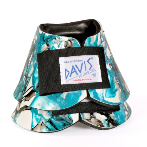 DAVIS Artisan Small Teal No-Turn Bell Boots