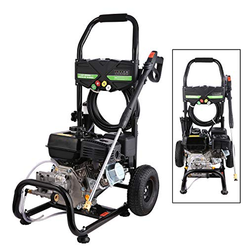 Highsell 3600PSI 212CC Gas Pressure Washer, 2.8GPM Gas Powered Power Washer