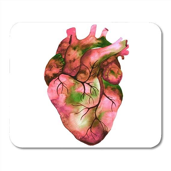Amazon Semtomn Gaming Mouse Pad Anatomy Unusual Human Heart