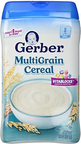 Gerber 1st Foods Baby Cereal - Multigrain - 16 (Gerber Rice Organic)