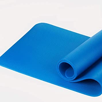 GGZZLL Yoga Mat Beginner Fitness 10mm Thickening Widened Men ...