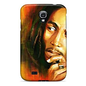 MansourMurray Samsung Galaxy S4 Shock Absorption Hard Cell-phone Case Customized HD Bob Marley Pictures [zeU13459tSnL]