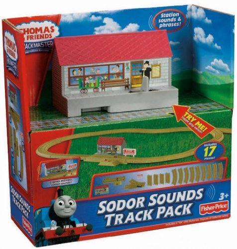 Toy / Game Expand the World of Exciting Thomas & Friends TrackMaster Sodor Sounds Track Pack Includes 17 (Thomas The Trai)