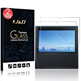 PC Hardware : [2-Pack] Echo Show Screen Protector, J&D Glass Screen Protector [Tempered Glass] HD Clear Ballistic Glass Screen Protector for Amazon Echo Show - Protect Screen from Drop and Scratch