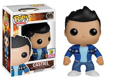 Funko - Pop Collection - Supernatural - Castiel French Mistake SDCC 2015 Summer Convention - 0849803053130
