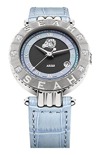 Seah-Empyrean-Zodiac-sign-Aries-Limited-Edition-42mm-Silver-Tone-Swiss-Made-Automatic-Diamond-watch