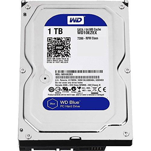 Price comparison product image Western Digital HDD WD10EZEX 1TB SATA 6Gb / s Desktop 7200rpm 64MB Cache Bare Drive (WD10EZEX)