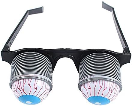 New HALLOWEEN PARTY Funny Glasses Fake Novelty Gag Prank Eye Ball Joke Ua
