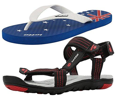 Lotto Men's Combo of Sandal & Slipper GT7152_1318