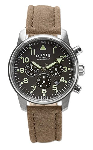 Orvis Signature Field Chronograph, Black (Indicator Orvis)