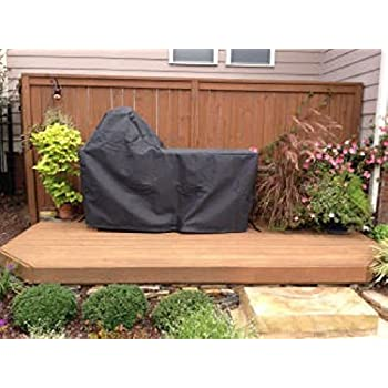 Big Green Egg   Embroidered Hardwood Table Cover With Handle For Large Egg.  Authentic Big