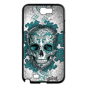 Custom Samsung Galaxy Note 2 N7100 Case, Zyoux DIY New Design Samsung Galaxy Note 2 N7100 Plastic Case - Skull