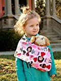 Snuggy Baby Child's Doll Sling Baby Doll Carrier - Princess Power
