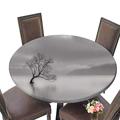 PINAFORE Elasticized Table Cover Lone Tree Lake wanaka