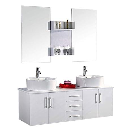 Muebles para baño para cuarto de baño con espejo baño 150 cm ...
