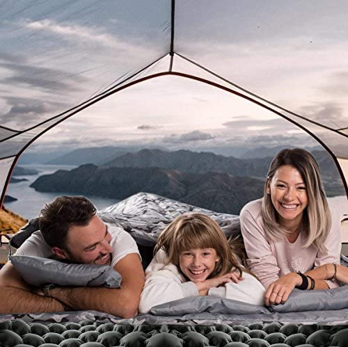 Chillax WellaX Ultralight Air Sleeping Pad /Ã/¢/â/'/¬/â/€/œ Inflatable Camping Mat for Backpacking Traveling and Hiking /Ã/¢/â/'/¬/â/€/œ Air Cells Design for Better Stability /& Suppo