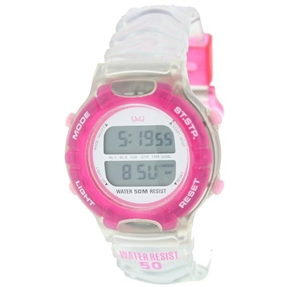 Reloj digital Señora Q&Q Mod.DR-12J-552 - 2 Alarmas, Crono