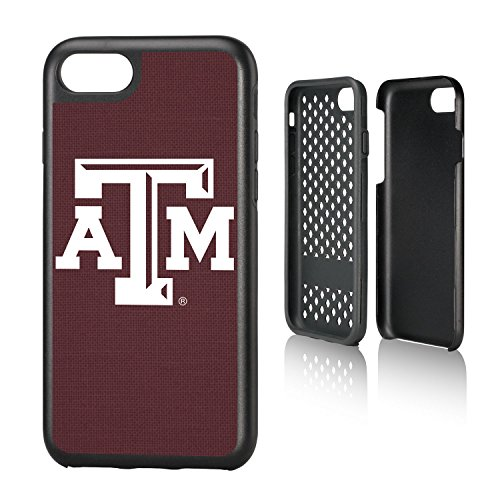 Keyscaper KRGDI7-0TAM-SOLID1 Texas A&M Aggies iPhone 8/7 Rugged Case with ATM Solid Design