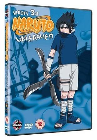 Naruto Unleashed - Series 3 Part 1 [DVD]: Amazon co uk