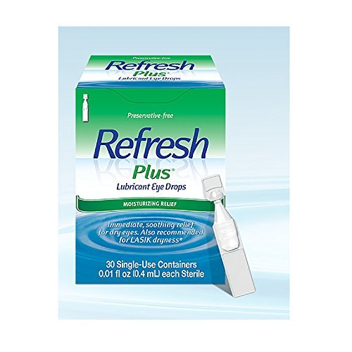Allergan Refresh Plus Eye Drops, Lubricant, Sensitive, 50 (Sensitive Lubricant Eye)