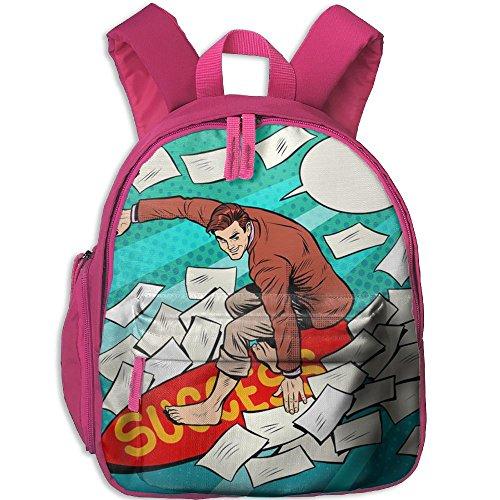 fan products of Windsurf Sport Cool Durable Printing Book Kid' Bag For Kids School Kindergarten Backpacks
