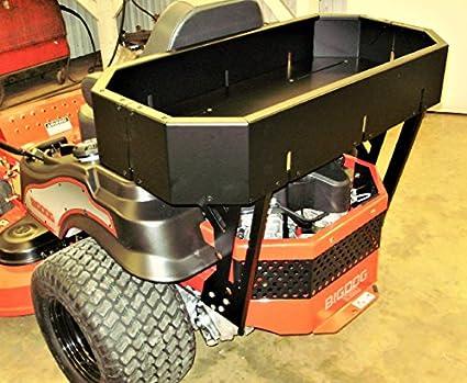 Alpha Big Dog & Hustler cortacésped trasera de aluminio cesta por ...