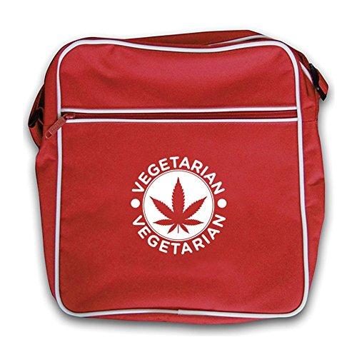 Hash Red Bag Flight Dressdown Vegetarian Retro 1Hwx4qxz5