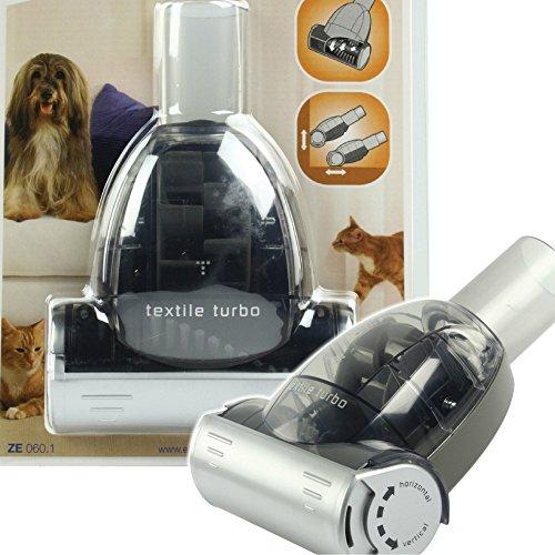 Profi Turbo Textil & Tierhaar Staubsauger Adapter - Katzen und Hunde Bürste Diameter 32 / 35mm