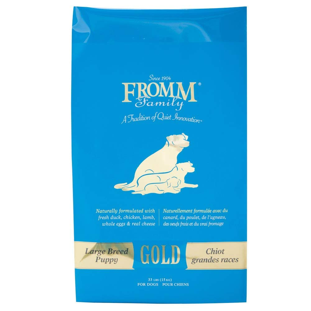 2.Fromm Family Foods Gold Large Breed Puppy Dry Food