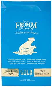 Fromm Family Foods 727050 Gold Large Breed 33 Lb Puppy Dry Food (1 Pack),