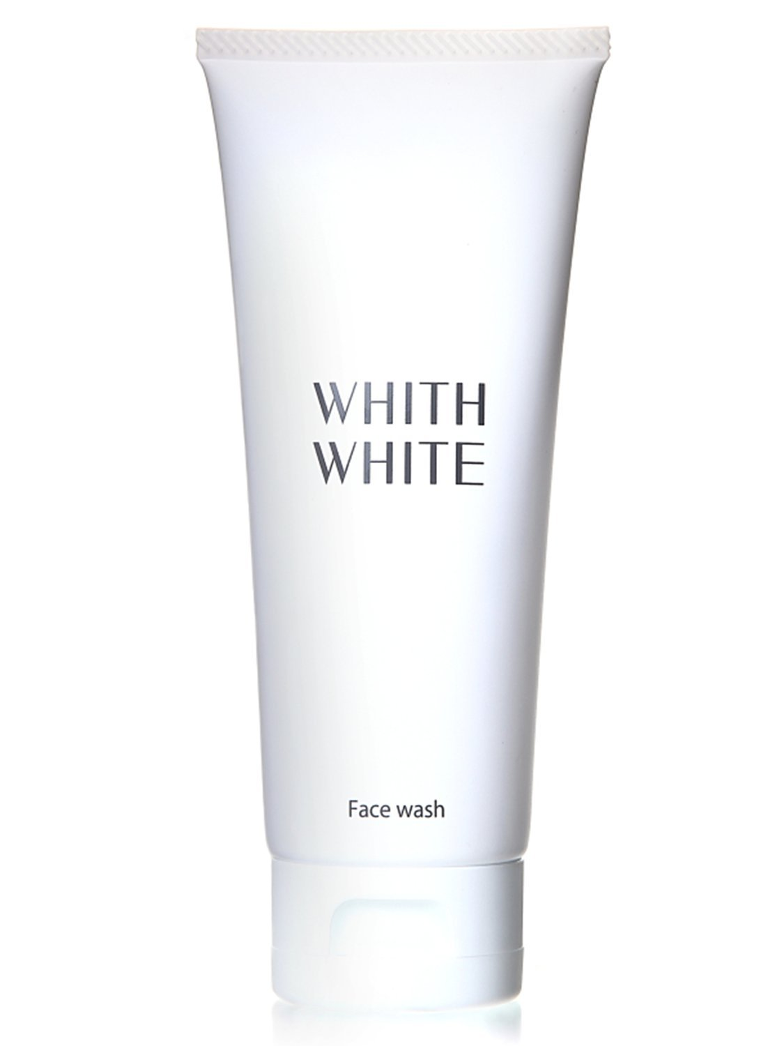 WHITH WHITE Whitening Foam Face Wash Cleanser, Made in Japan 日本, Cleans blackheads Pore Cloggings darkness, Reduces Spots blotchiness darkness, 3.5oz(100g) by WHITH WHITE
