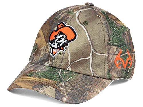 - Top of the World Oklahoma State Cowboys Camo Realtree Fallout Stretch Cap