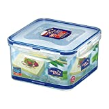 LOCK & LOCK Square Plastic Food Container with Special Tray for Tofu 40.58oz / 5.07cup