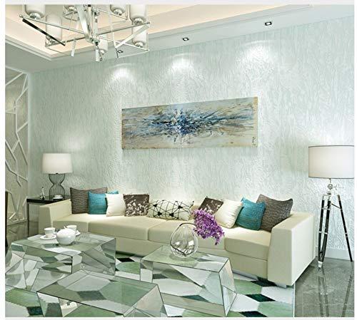 Non-Woven Wallpaper Plain Diatom Mud Light Blue Wallpaper Modern Fashion Art for Living Room Bathroom Kitchen Home Decor