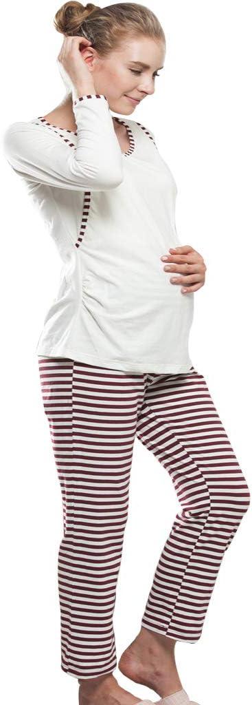 Ropa para Dormir Pijamas de Maternidad Embarazo Ropa de ...