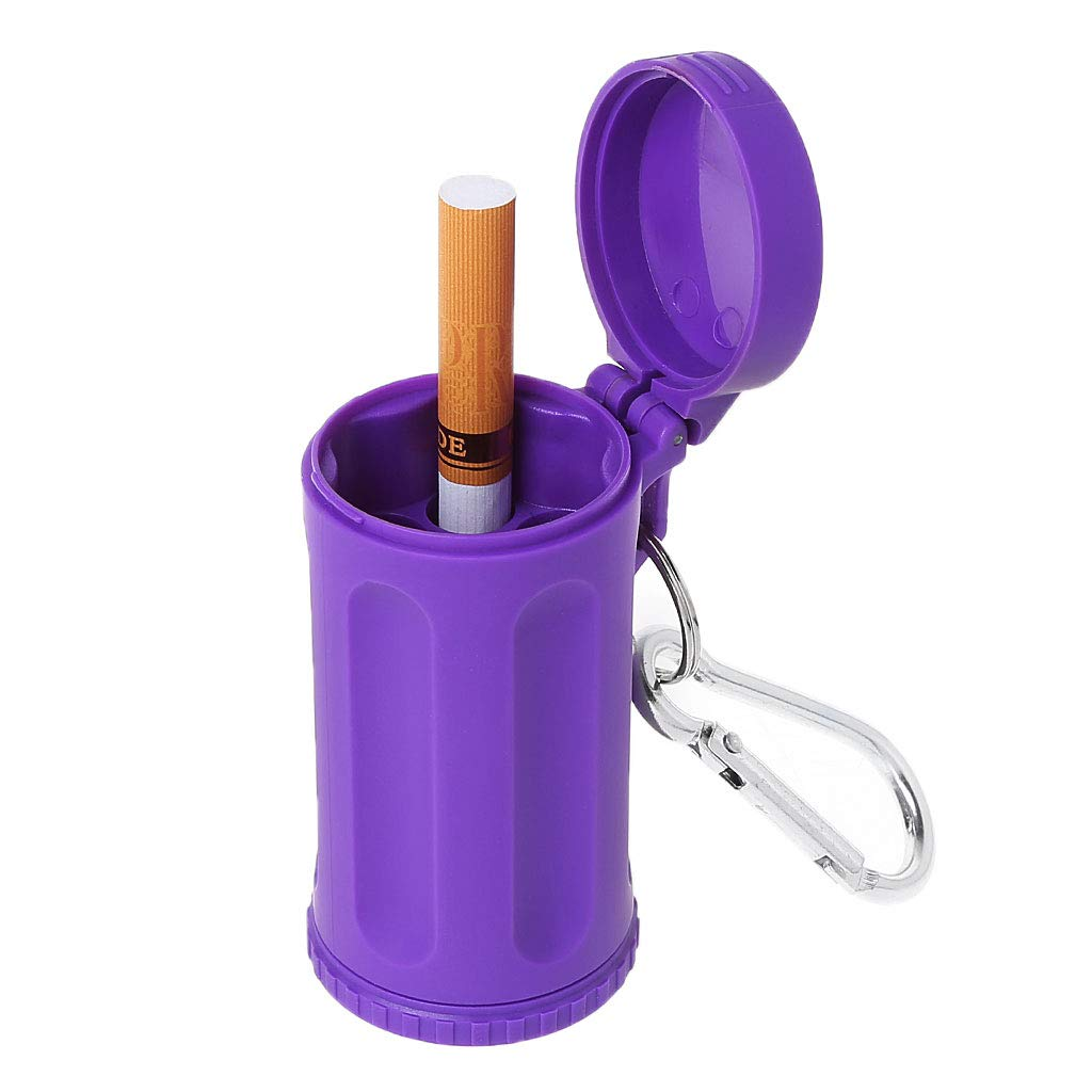 Lila Lifet Auto Mini Geruchssicher taschenaschenbecher mit Deckel
