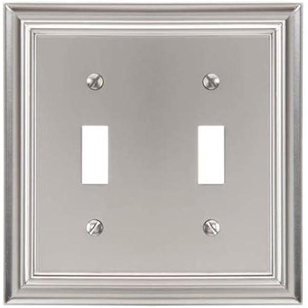 Elumina Brass Wallplate New in Package Single Light Switch