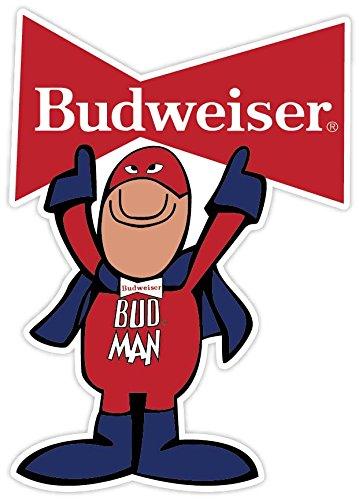 bud-man-budweiser-beer-vinyl-sticker-decal-4x5-car-bumper-laptop-toolbox
