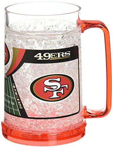 San Francisco 49ers 16oz Crystal Freezer Mug (49ers House Francisco San)
