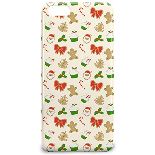 Phone Case For Apple iPhone 5C - Christmas Cookies Hardshell Lightweight