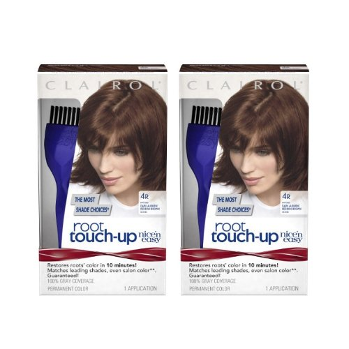 Clairol Nice 'n Easy Root Touch-Up 4R Matches Dark Auburn...