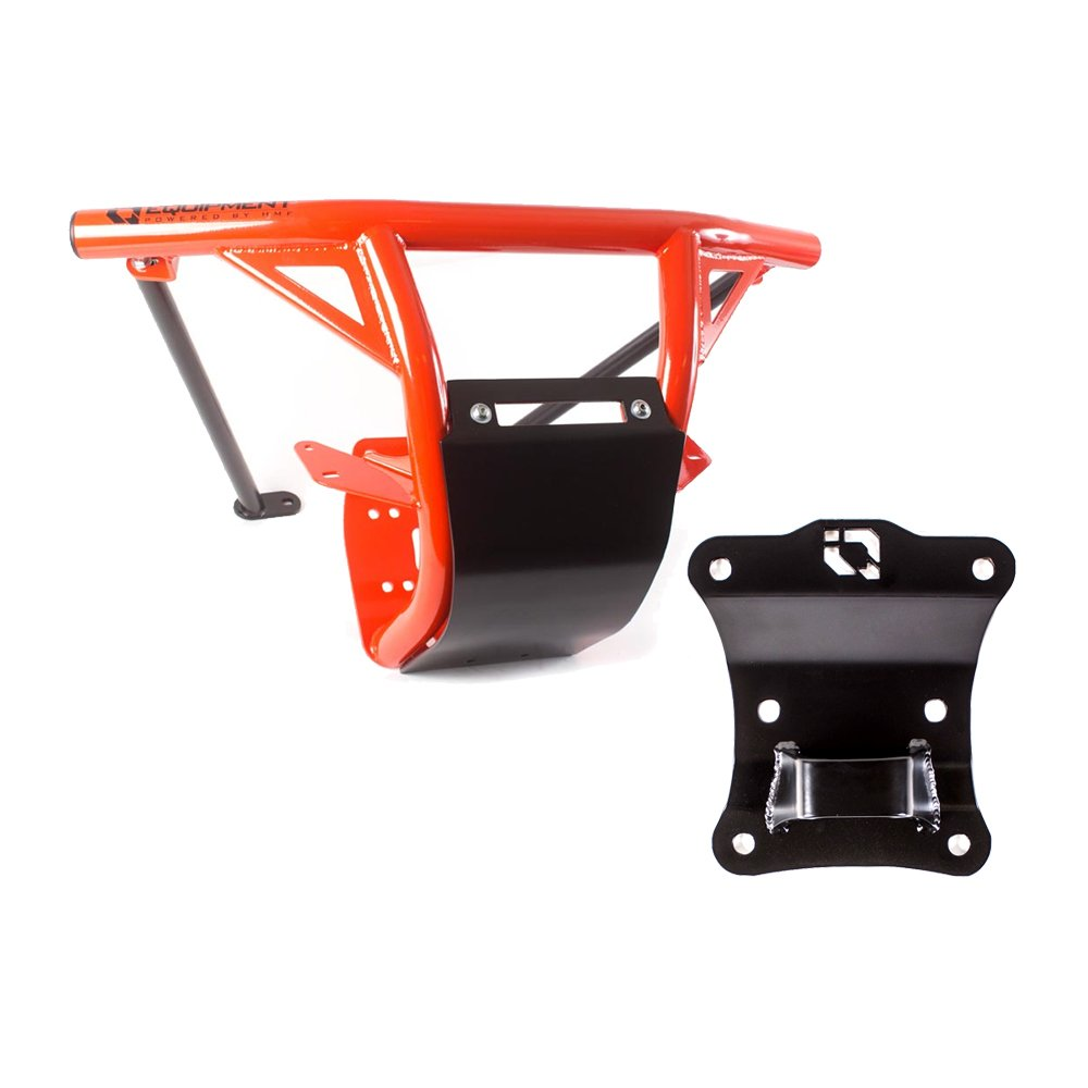 HMF IQ HD Front Bumper /& Pull Plate Can-Am Maverick X3 2017-2019 Can-Am Red