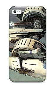 First-class Case Cover For Iphone 5c Dual Protection Cover Ikaruga Shooter Arcade Anime Sci-fi Mecha Senran Kagura