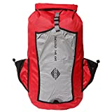 Aqua Quest SPORT 25 PRO Red Waterproof Backpack 25L Reflective for Safety for Bike, Motorcycle, School, College
