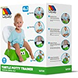 Moltó - Orinal 4 en 1 tortuga potty chair verde