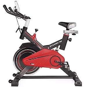 Nueva Dyanmic 30estacionaria bicicleta estática cardio interior ciclismo para bicicleta rojo