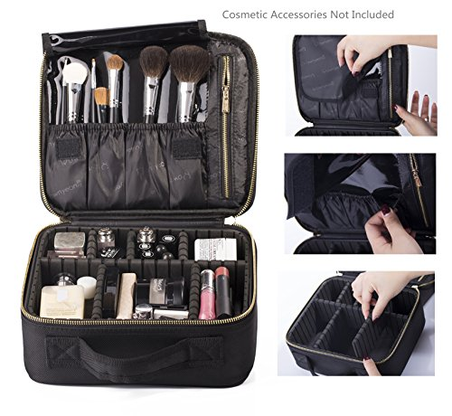 ROWNYEON Makeup Organizer Portable combined product image