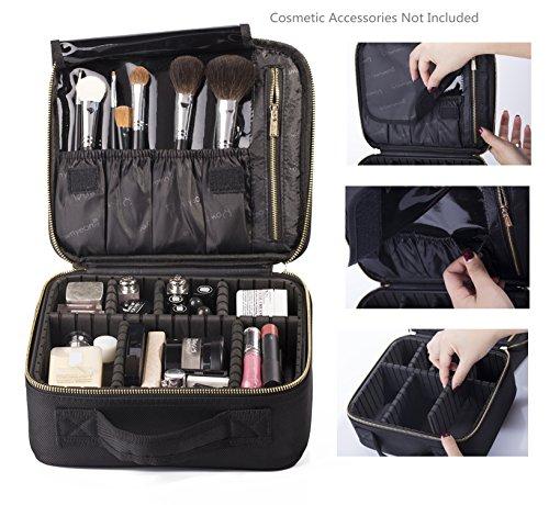 ROWNYEON Makeup Organizer Portable combined